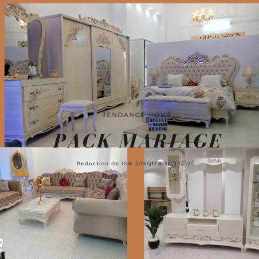 Pack de mariage 2020