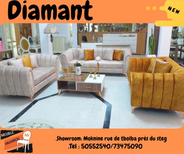 """Salon """" Diamant """" - Meuble Tunisie"""