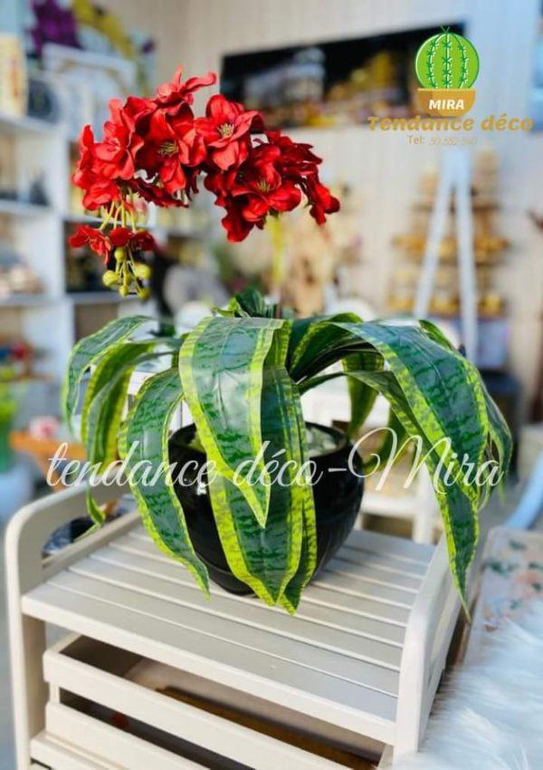Plante artificiel_ RF:P13_Décoration-Tunisie